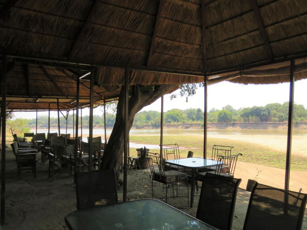 Croc Valley Camp Bar View
