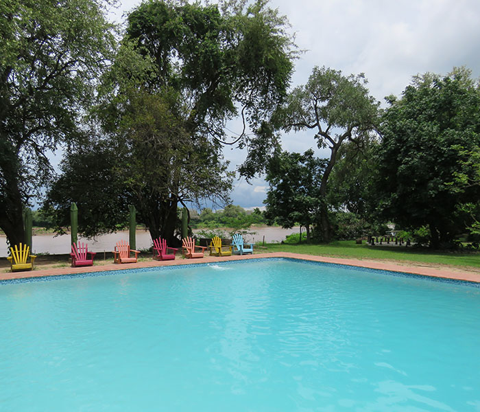 Outdoor Swimming Pool Croc Valley Camp