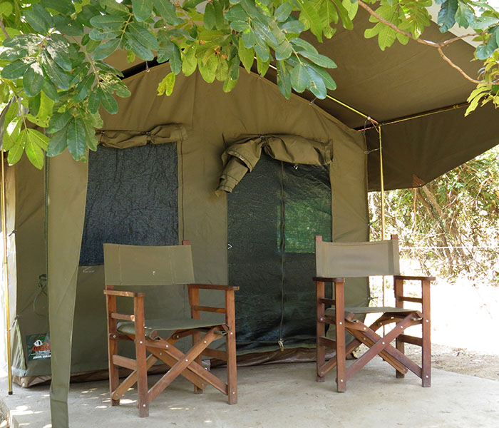 Backpacker Tents Safari Accommodation