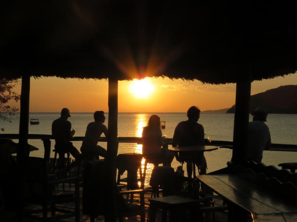 Funky Cichlid Sunset Deck