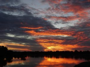 Luangwa River Sunset