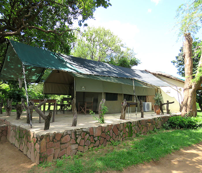 River Tents Safari Camp Accomodation