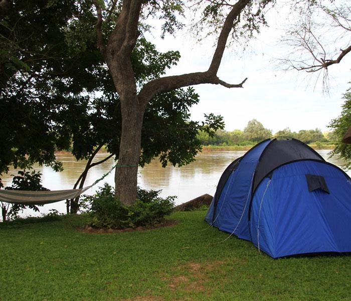 Camping South Luangwa Zambia