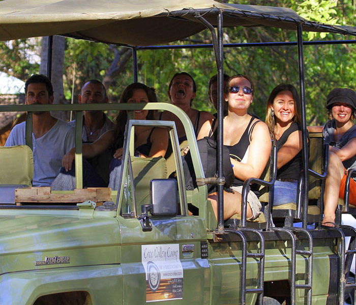 Croc Valley Camp Game Drive