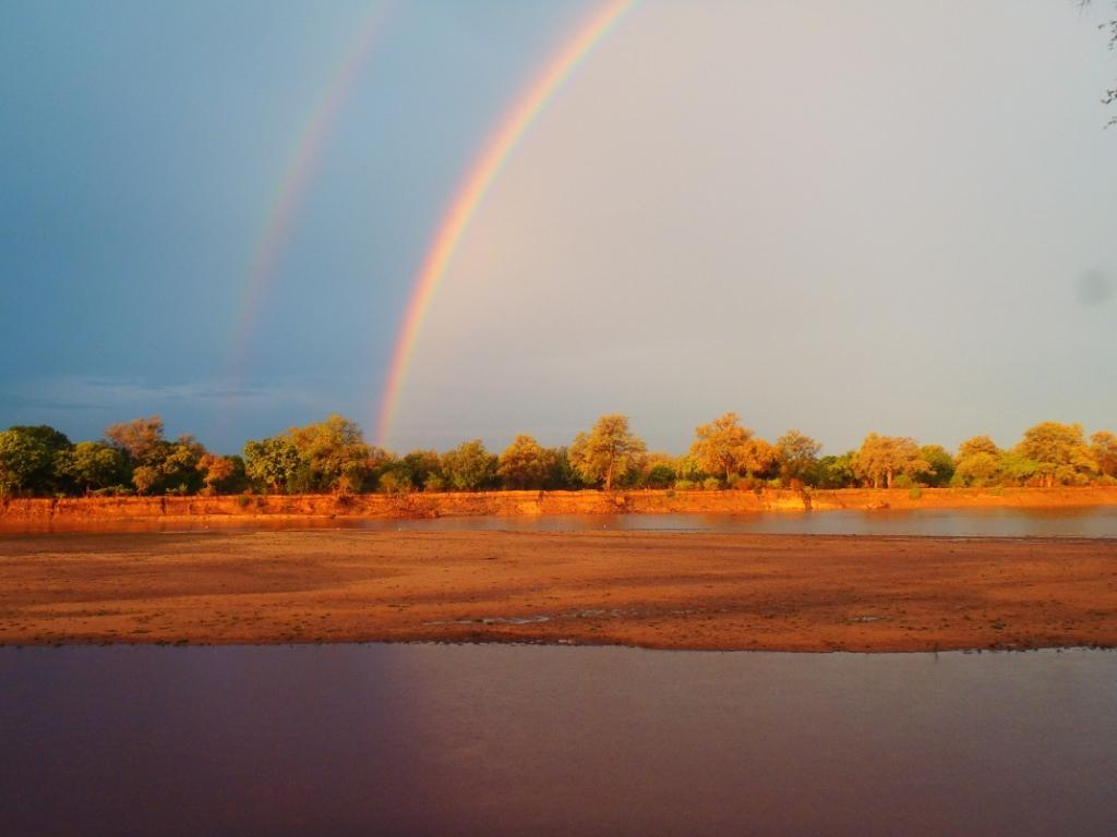 Rainbow Luangwa River Zambia