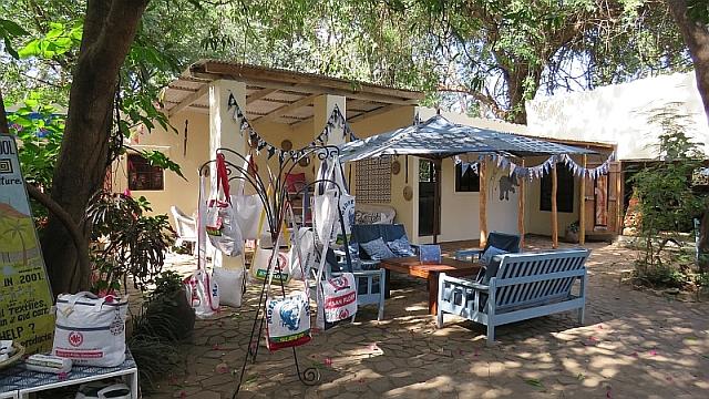 Tribal Textiles Courtyard Cafe