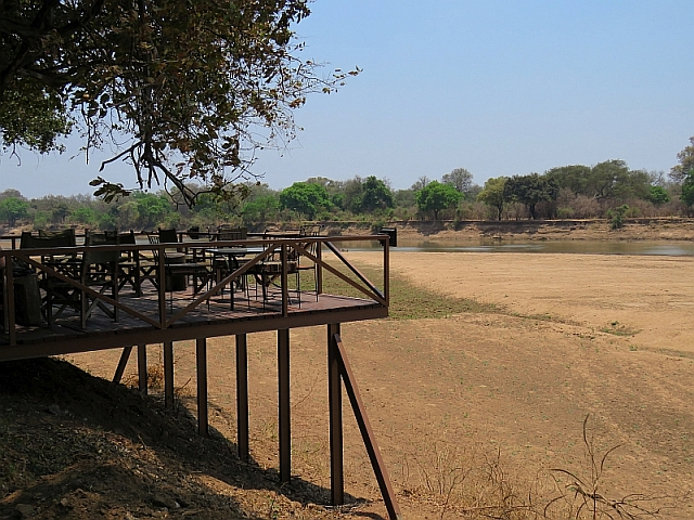Croc Valley River Deck